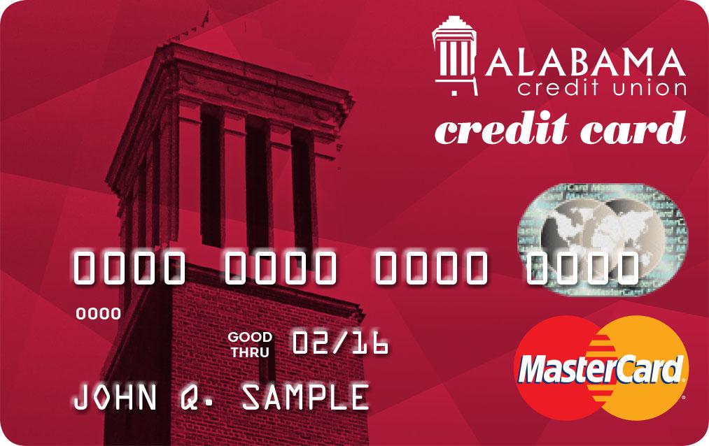 New MasterCard Credit Cards! - Alabama Credit Union